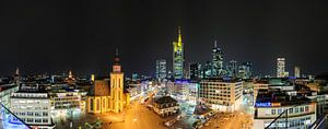 Frankfurt, skyline van