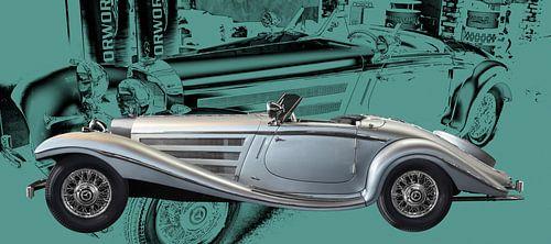 Mercedes-Benz 540 K Spezial Roadster von aRi F. Huber