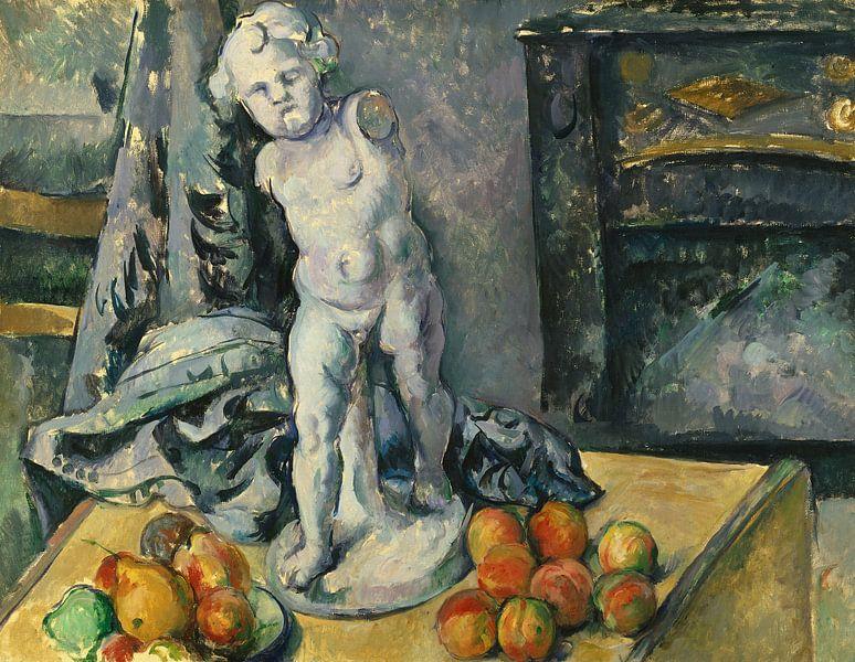 Paul Cézanne. Stilleven Met Gips Cupido van 1000 Schilderijen