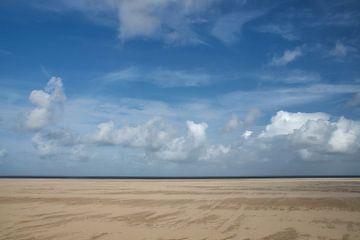 Uitgestrekt strand van Ad Jekel