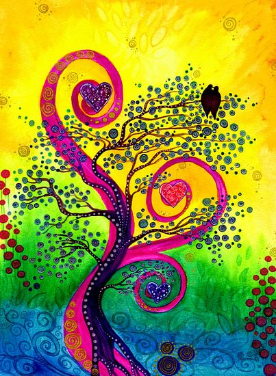 In Liebe wachsen van Sandra Riedel ( SaRidie-arts)