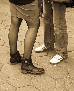 Communicerende voeten van Karin School-van Leur
