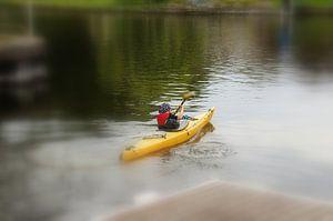 Reise auf dem Fluss