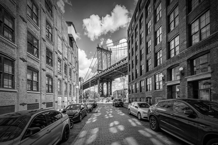 NEW YORK CITY Manhattan Bridge van Melanie Viola