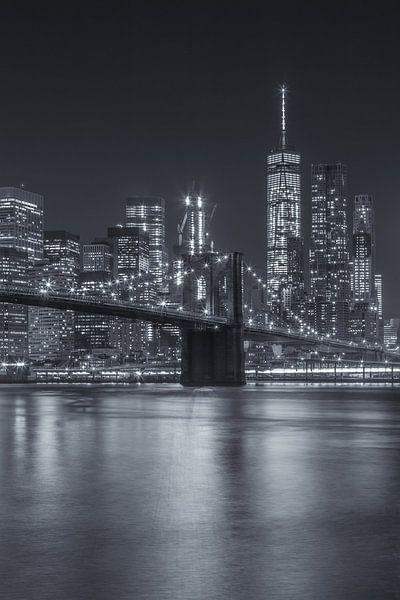 New York Skyline - Brooklyn Bridge 2016 (13) van Tux Photography