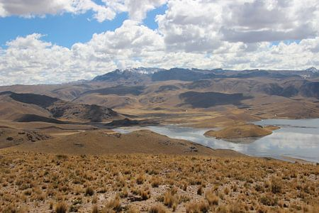 Landschap in Peru
