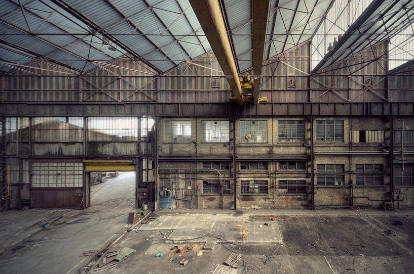 Urbex - Industrie van Angelique Brunas