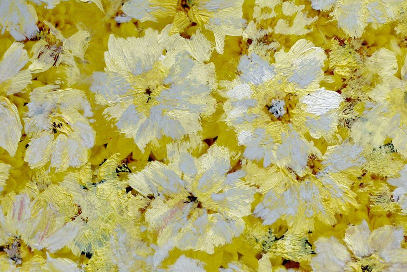 Oplichtende bloemen. van Lex Boon