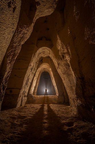 Underground Quarry von Bert Beckers