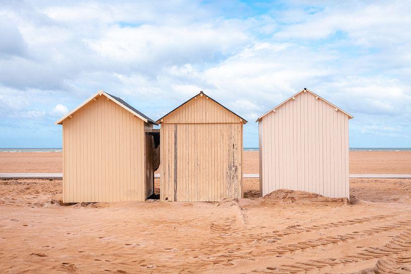 Standhutjes aan de Franse kust l Reis Fotografie van Lizzy Komen