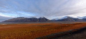 Svalbard view van Richard van der Hoek