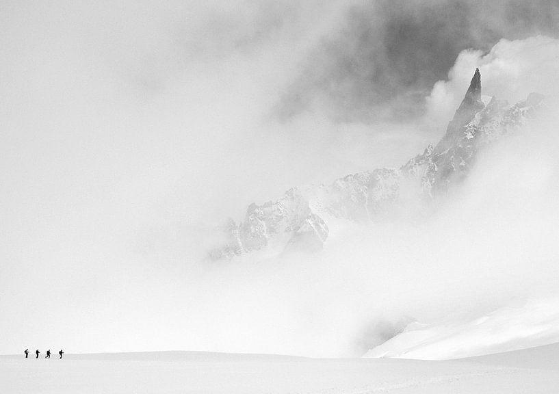 Dent du Géant (Mont-Blanc-Gruppe) von Menno Boermans