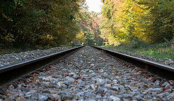 railroad track van Compuinfoto .
