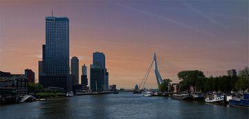 Rotterdam am Morgen von Atelier Liesjes