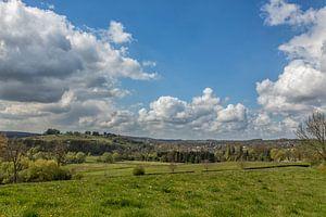 Panorama van  de Gulperberg en Gulpen
