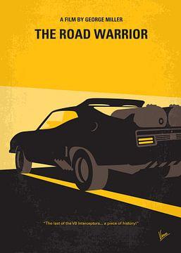 No051 My Mad Max 2 Road Warrior minimal movie poster van Chungkong Art