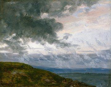 Studie über driftende Wolken, Johan Christian Dahl