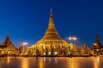 Schwedagon Pagode van Antwan Janssen