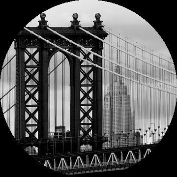 new york city ... manhattan bridge trilogy III van Meleah Fotografie