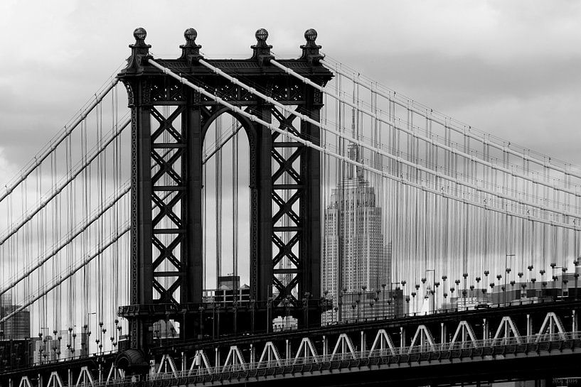 new york city ... manhattan bridge trilogy III von Meleah Fotografie