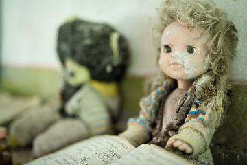 Speelgoed kinderdagverblijf Tsjernobyl van Erwin Zwaan