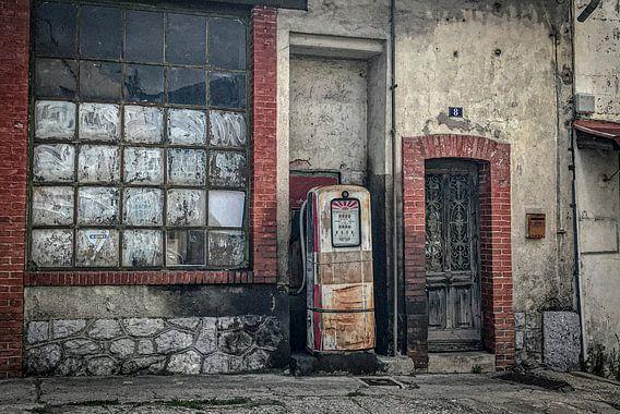 Benzinestation (oud)