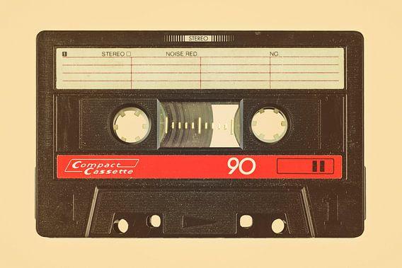 De oude eighties audio cassette van Martin Bergsma
