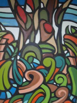 the forest von Jeroen van Dongen