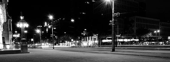 Stadhuis Rotterdam in de nacht van Alice Sies