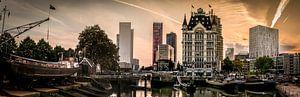 De Oude Haven in Rotterdam. van
