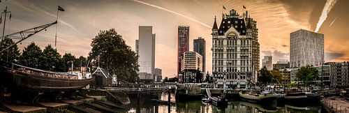 Der Alte Hafen in Rotterdam.