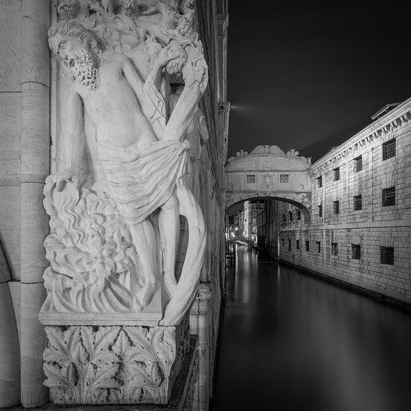 Venetië - Brug der Zuchten I van Teun Ruijters