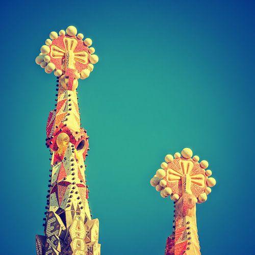 Barcelona - Sagrada Familia van Alexander Voss