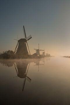 Mühlen Kinderdijk von Moetwil en van Dijk - Fotografie