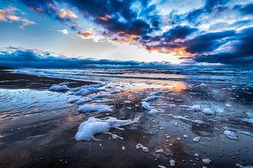 Winter Strand von Alex Hiemstra