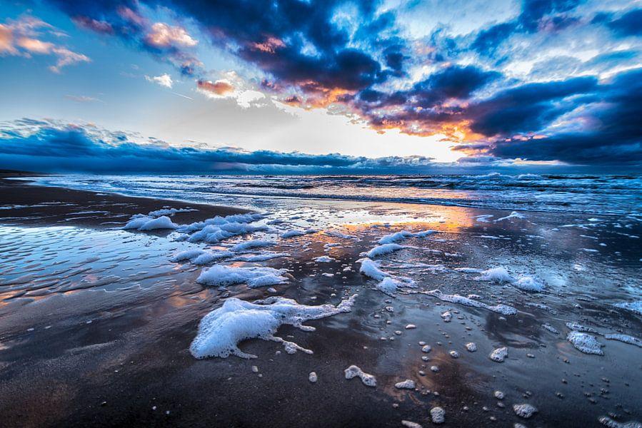 Winters Strand van Alex Hiemstra