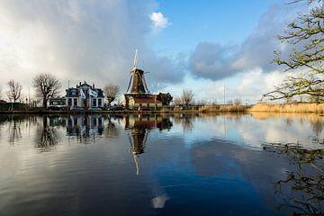 Molen in Rotterdam van Michel van Kooten