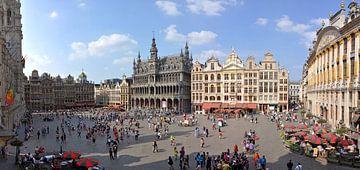 La grand place de Bruxelles van Jean Pierre De Neef