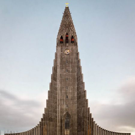 Reykjavik's Hallgrímskirkja von Jasper den Boer