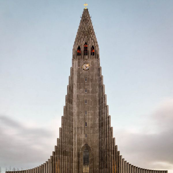 Hallgrímskirkja, Reykjavik  van Jasper den Boer