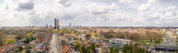 Panorama Tilburg - breit von Henri Boer Fotografie
