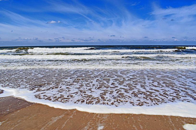 Wellen Am Strand In Zeeland Von Judith Cool