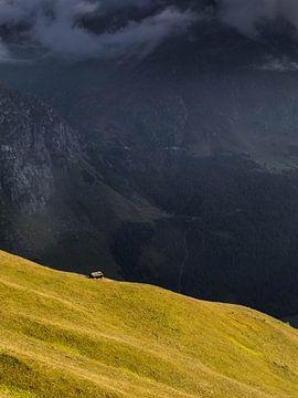 Hütte auf dem Berg in Tirol von