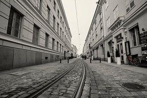 Straatbeeld in Helsinki
