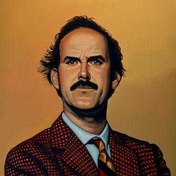 John Cleese Schilderij van Paul Meijering