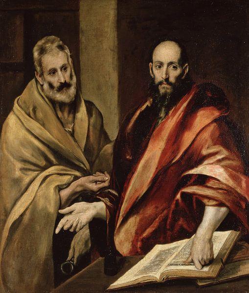 Sankt Peter und Paul, El Greco von The Masters