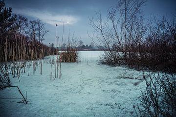 Frozen lakes van Michel de Jonge