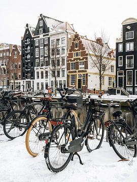 Häuser an der Herengracht, Amsterdam von Lorena Cirstea