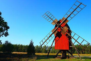 Windmühle in Schweden von Thomas Zacharias