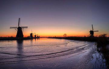 Prachitge opkomst aan de Kinderdijk van Midi010 Fotografie